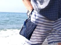 Waves with Anchor Purse